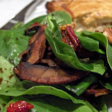 Spinach Salad With Pecans and Sun-Dried Tomato