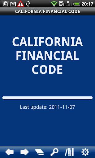 California Financial Code