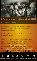 Screenshot of SamFest