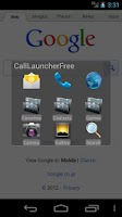 Screenshot of CallLauncherFree