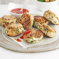 Gingered Chicken Patties
