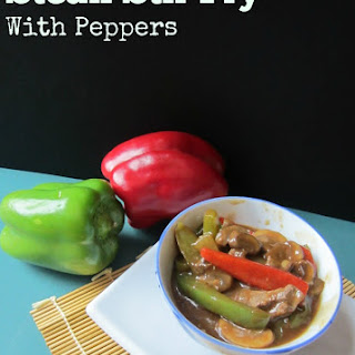 Beef Stir Fry With Peppers