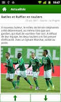 Screenshot of ASSE - Saint-Etienne