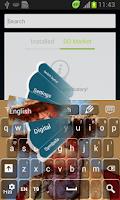 Screenshot of Cowboy Keyboard