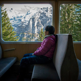 Train up to Gornergrat and see the Matterhorn  by Kean Low - Landscapes Mountains & Hills