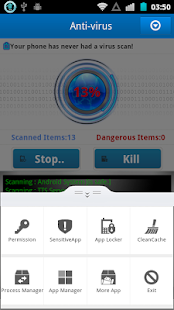 Mobile Protection Scanner - screenshot