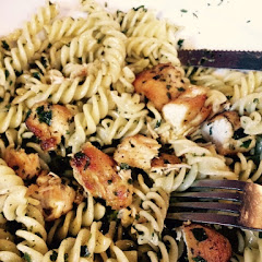 Gluten Free Pasta with Pesto.