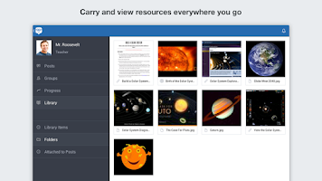 Screenshot of Edmodo