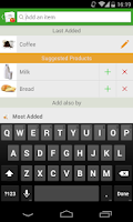Screenshot of Grocery List - Tomatoes