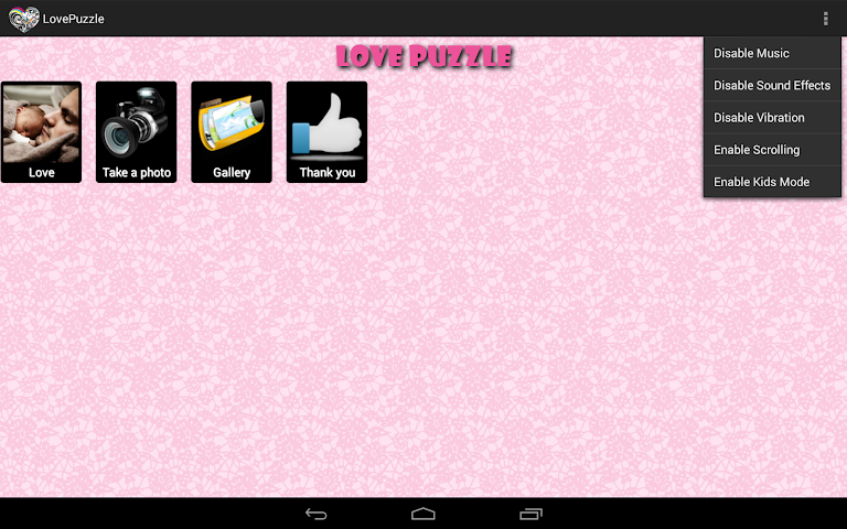 android Liebes-Puzzle Screenshot 5
