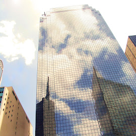 Cloud Illusions by Charla Mealer - Buildings & Architecture Office Buildings & Hotels