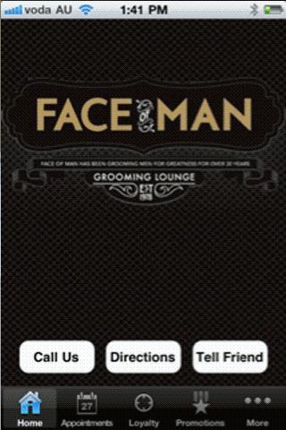 Face of Man