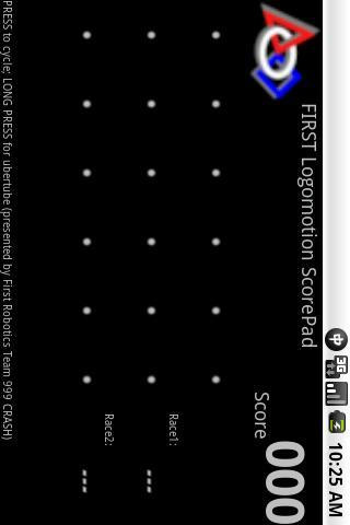 First Logomotion 2011 Scorepad