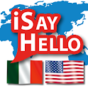 iSayHello Italian - English US icon