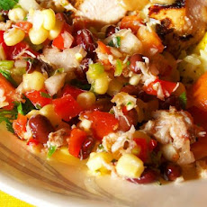 Crab Corn and Black Bean Salad