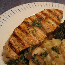Grilled Italian Marinated Swordfish