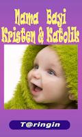 Screenshot of Nama Bayi Kristen & Katolik