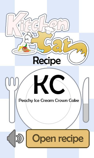 KC Peachy Ice Cream Crown Cake