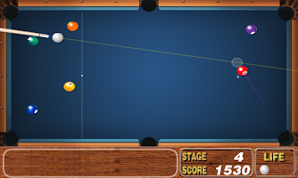 Screenshot of Funny Snooker