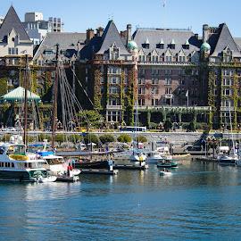 Empress Hotel, Victoria, BC by Judy Rosanno - Buildings & Architecture Public & Historical ( building, canada, victoria, hotel, historic,  )