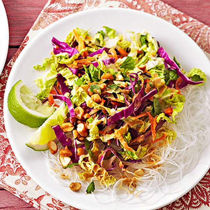 cabbage and carrot salad with peanut sauce from better homes and ...