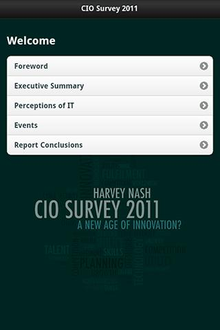 CIO Survey 2011
