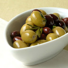 Warm Olives with Wild Herbs