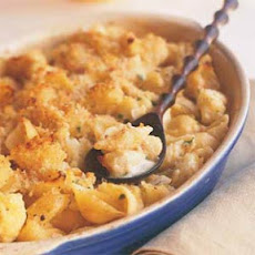 Cauliflower, Pasta, and Cheese Gratin