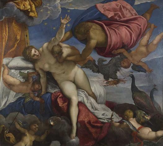 Tintoretto, Origine della via lattea