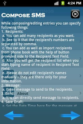 【免費通訊App】SMS Routine-APP點子