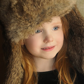 The Huntress by Cheryl Korotky - Babies & Children Child Portraits