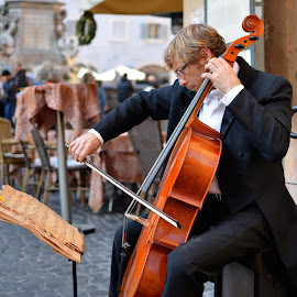 Music from the sadness by Andrea Riccobene - People Street & Candids (  )