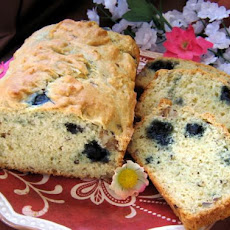 Blueberry Black Walnut Bread (Cake)