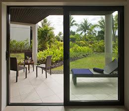 Courtyard at Radisson Fiji