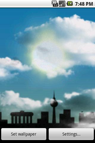 Cloudy Sky Live Wallpaper