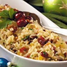 Cranberry Orange Rice