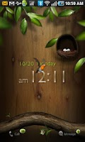 Screenshot of Tia Locker Ani Bird Theme