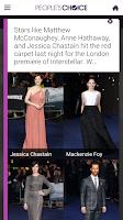 Screenshot of People's Choice Awards 2015