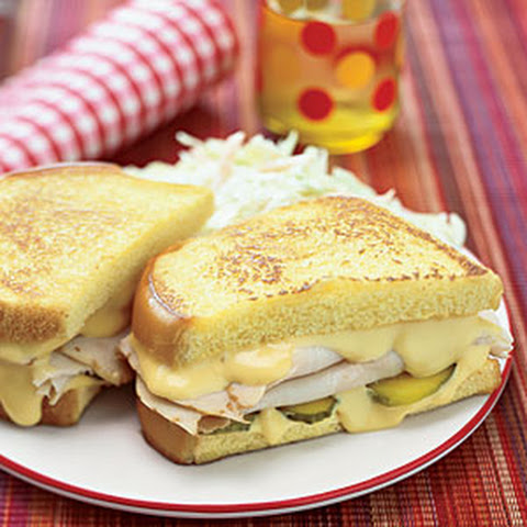 Grilled Cheese, Turkey and Pickle