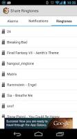 Screenshot of Share Ringtones