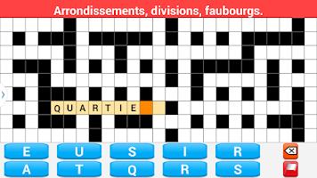 Screenshot of Mots Fléchés en Français