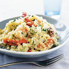 Lemon-Shrimp Couscous Risotto