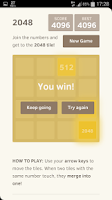 Screenshot of 2048 HACK