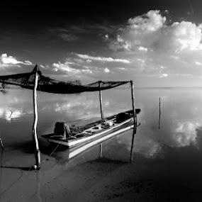 PARKING by Sham ClickAddict - Black & White Landscapes