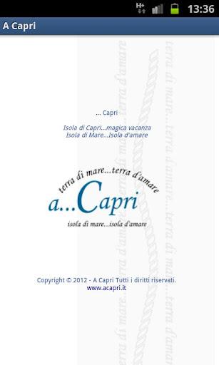 A Capri