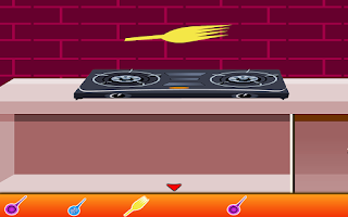 Screenshot of Pink Kitchen Escape Games
