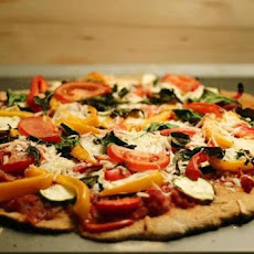 Mediterranean Sweet Potato Pizza