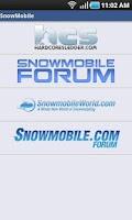 Screenshot of SnowMobile.Com Free