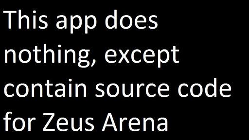 Zeus Arena Source