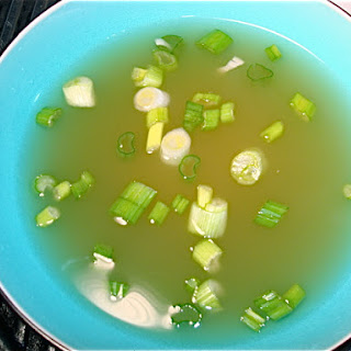 Garlic and Ginger Infused Chicken Broth